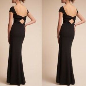 BHLDN Katie May Madison Black Gown Dress NWT